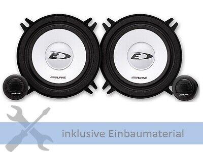 Alpine Lautsprecher SXE1350S 250W 130mm 2 Wege Kompo für Mercedes ML (W164)