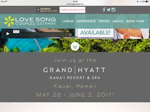Love Song Couples Getaway - Hawaii