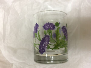 Floral Drinking Glasses