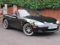 2004 Mazda MX5 1.6I EUPHONIC, BLACK, HEATED LEATHER, ALLOYS,