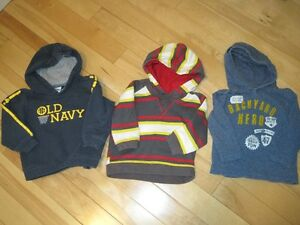 Boys hoodies - 2T