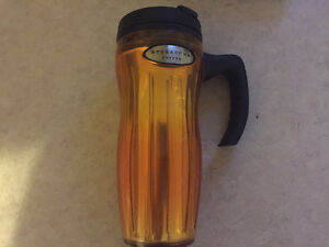 Starbucks Coffee Company Orange 16 Oz Tumbler