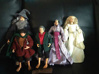 "LORD OF THE RINGS 12"" ACTION FIGURES BY TOY BIZ"
