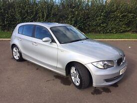 BMW 118d SE. Road tax 30£ per year.