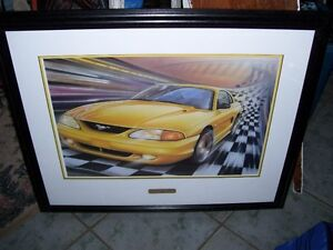 Limited Edition Signed Print w certificate  Purebred Performance