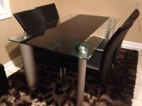 Modern Urban 5 Pieces Dining Table