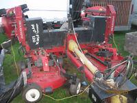 1999 Progressive Pro-flex Five gangs rotary grass cutting unit.