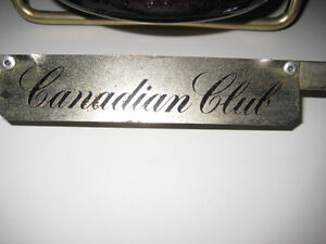 RARE! 1 GAL CANADIAN CLUB WHISKEY BOTTLE in DISPLAY STAND Peterborough Peterborough Area image 4