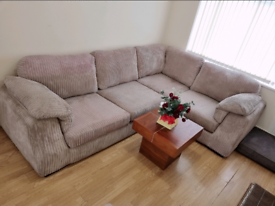 Dfs corner sofa in excellent condition. No rips no stains like new.