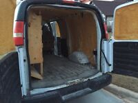 Chevy express 2500 cargo van for sale