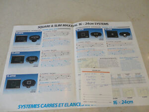 Vintage 1980's Car Stereo Brochures - Sony & Pioneer  $5.00/ea Kitchener / Waterloo Kitchener Area image 9