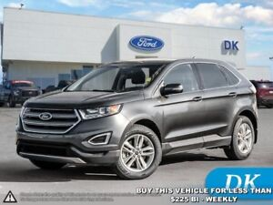 2016 Ford Edge SEL  w/Leather, Moonroof, Nav, and More!