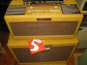 Fender  Deluxe Tweed  57   Re Issue Hand wired . Rare