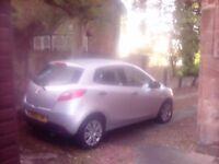 Mazda 2 five door mot year clean car