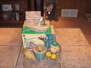 Rare Vintage Antique Wind up Mechanical Toys