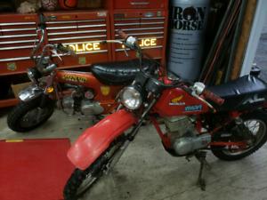 Ct70 1974 et XL80 1984