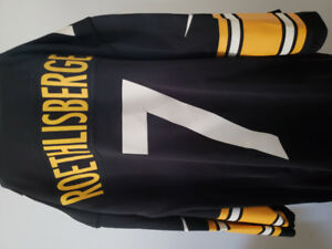 Pittsburgh Steelers Roethlisberger on field Jersey $45