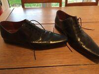 Black next formal shoes size 10