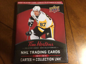 BUY/SELL/TRADE 2017-18 TIM HORTONS HOCKEY CARDS