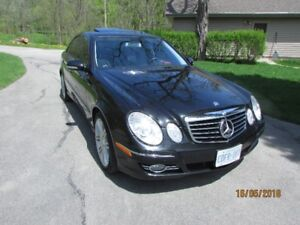 2009  MERCEDES BENZ E300  4MATIC AVANTGARDE