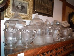 COLLECTION OF ANTIQUE EARLY CANADIAN PRESSED GLASS Sarnia Sarnia Area image 7