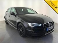 2014 AUDI A3 S LINE TDI DIESEL 1 OWNER AUDI SERVICE HISTORY FINANCE PX WELCOME