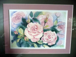 "L/Edition, Hand Signed, Mary-Dawn Roberts, ""Victorian Roses"" Stratford Kitchener Area image 2"