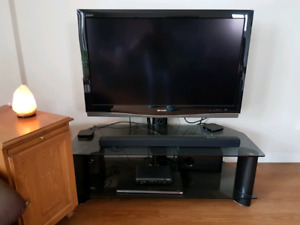 "Sharp Aquos 42"" LCD HD TV and Stand"