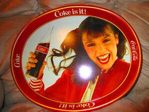 RARE COKE COCA -COLA SERVING TRAY FOR SALE VG CONDITION  $10.00