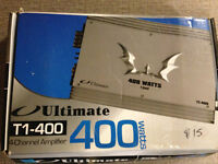 Ultimate T1-400 400 Watts Amplifier AUTO AMPLI new/neuf