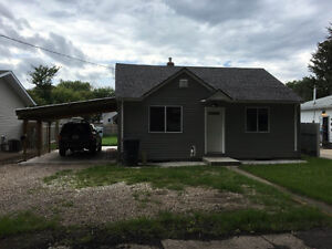 Two bedroom house for rent in Yorkton