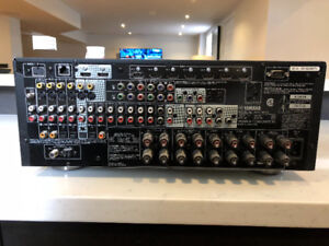 Yamaha reciever htr-8063 with remote and antenna