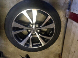 245/45R18 TIRES AND RIMS