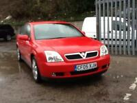 Vauxhall Vectra RARE AUTOMATIC 2.2 STUNNING BRIGHT RED Elite
