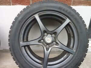 """Grey 17"""" ISR Winter Performance Rims with 5x114.3 Bolt Pattern"""