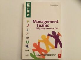 """Book """"Management Teams: why they succeed or fail"""""""
