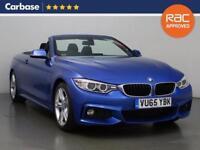 2015 BMW 4 SERIES 430d M Sport 2dr Auto Convertible