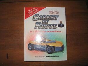 AUTOS CARNET DE ROUTE 1999