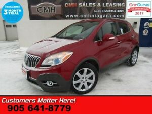 2014 Buick Encore Premium  NAV LEATH ROOF LANE-DEPART BLINDSPOT
