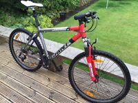 Giant terrago hard tail mountain bike