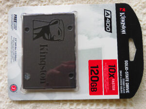 Kingston 120GB Solid State Drive (SSD)