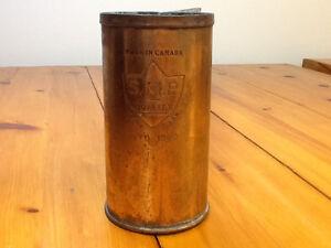 Bouilloire en cuivre vintage 1923