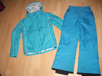 SKI suits -- good quality -- near new / like NEW -- size M and S