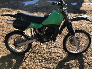 1986 Kawasaki KDX 200 Parts Bike