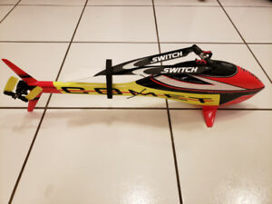 Sab Goblin mini Comet RC Helicopter