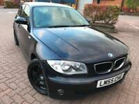 BMW 120d SPORTS 2005, DIESEL, RECENTLY FULLY SERVICED, LONG MOT,FULL LEATHER** S