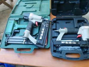 """2"""" brad nailers and staple gun"""