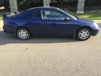 2001 Honda Civic Coupe (2 door) LOW KMS ON MOTOR