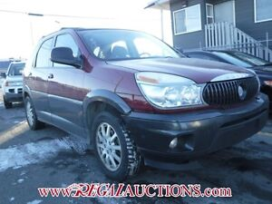 2005 BUICK RENDEZVOUS  4D UTILITY AWD