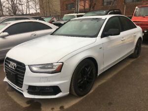 2015 Audi A4 SLine just arrived for sale at Pic N Save!